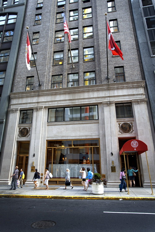 Ezra magazine Cornell Club offers oasis in New York City