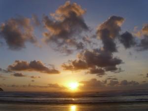 Cape Meares Beach sunset