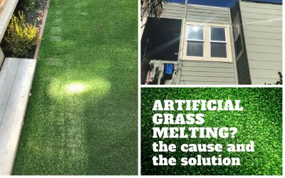 Is Your Artificial Grass Melting? The Cause And The Solution