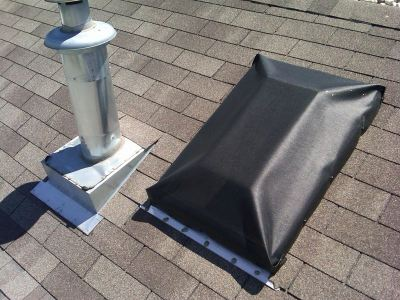 EZ Snap Exterior Blinds for Raised Skylights