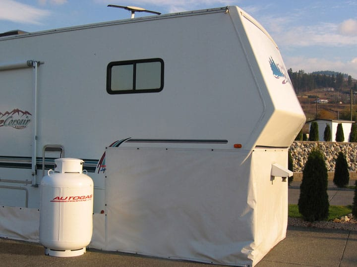 EZ Snap RV Skirting & Fifth Wheel Hitch Enclosures