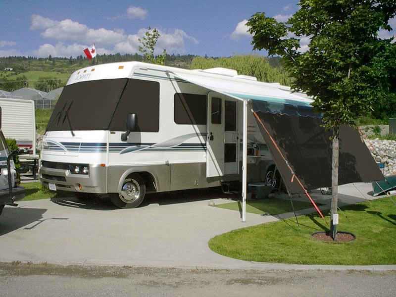 RV Solar Shades – Cool your RV without air conditioning!