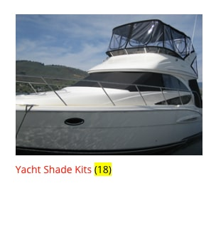 EZ Snap Store Yacht Shade Kits