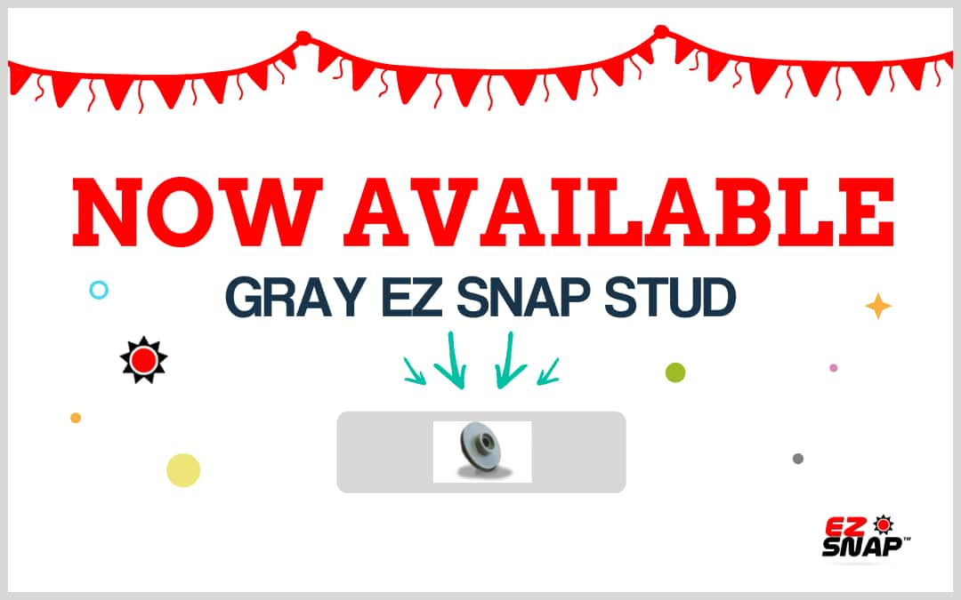 New Stud Color Gray Is Now Available