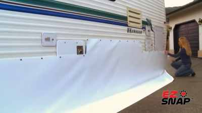 Installing your own RV Skirting