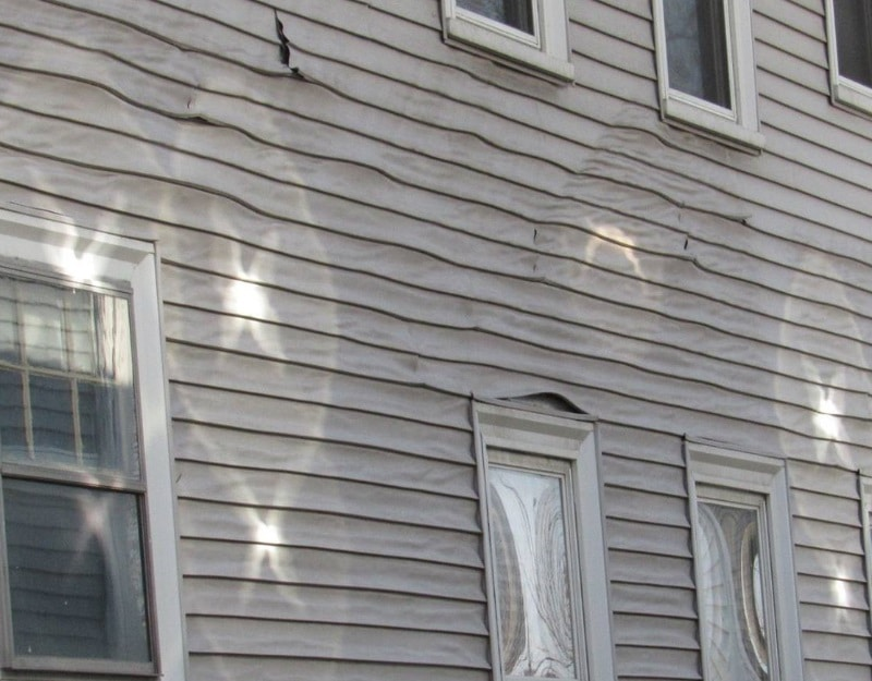 Melted Vinyl Siding Mystery Solved !