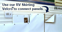 RV Skirting Velcro for Panels