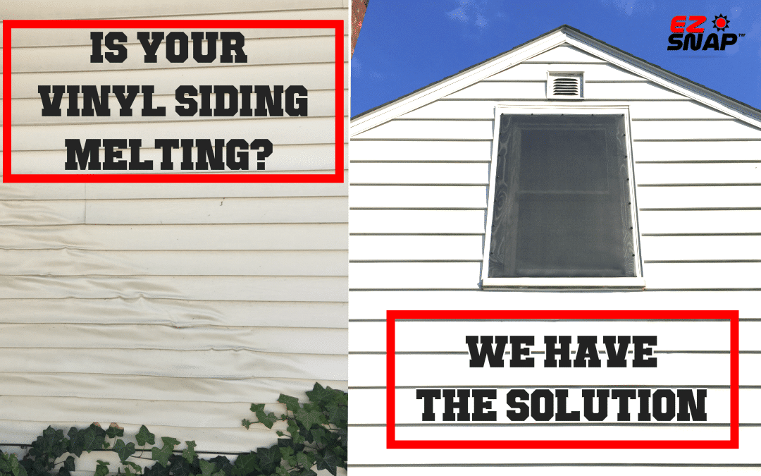 Is Your Vinyl Siding Melting? – Here Is A Quick And Inexpensive Solution