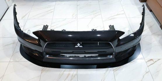 Mitsubishi Evo X front splitter 07-14