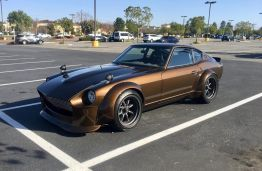 Widebody Datsun Fender Flares
