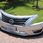 Nissan Altima 3013 2014 2015 Front Splitter