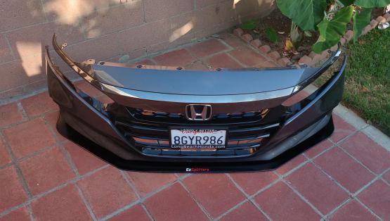 Honda Accord 18-19 front splitter
