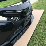 Toyota Camry front splitter 18-18