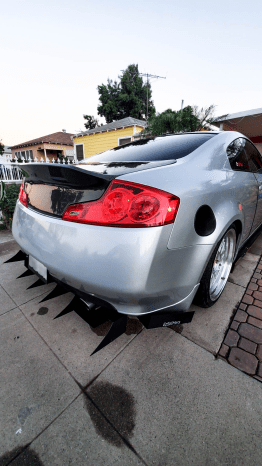 G35 Coupe diffuser