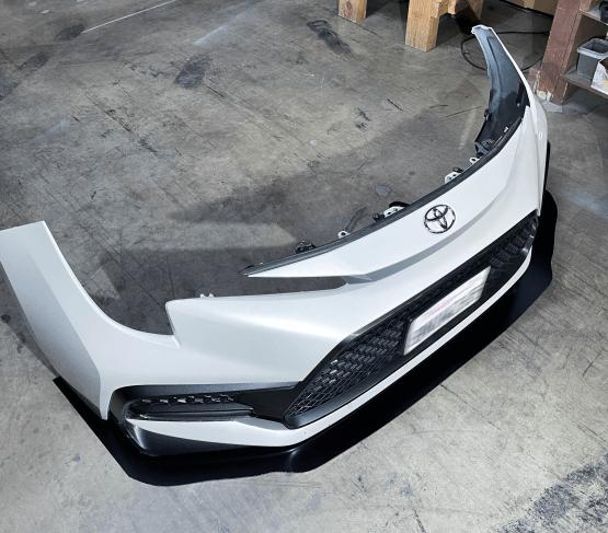 Toyota Corolla Sedan SE front splitter 2020 2021