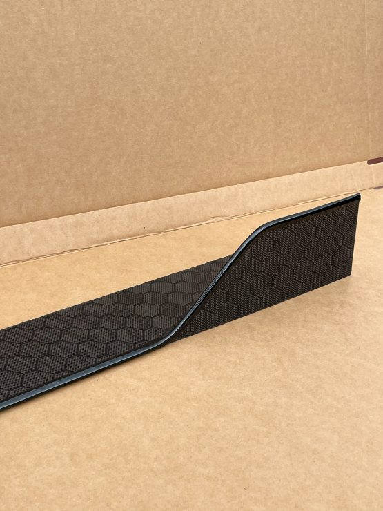 Carbon fiber honeycomb side splitters