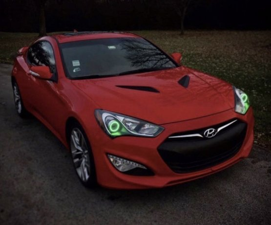 Genesis Coupe Halo Kit