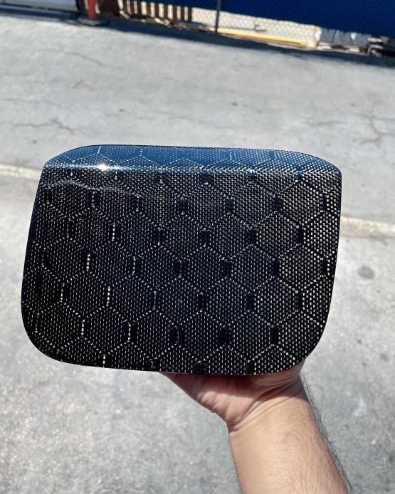 Honeycomb gas lid