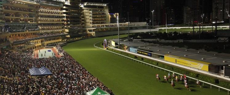 raceday-nighttime