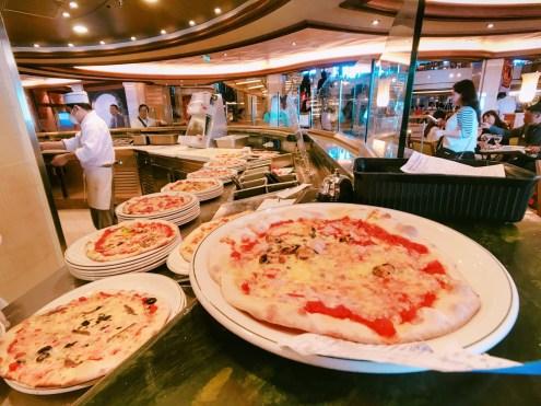 盛世公主遊輪_披薩餐廳