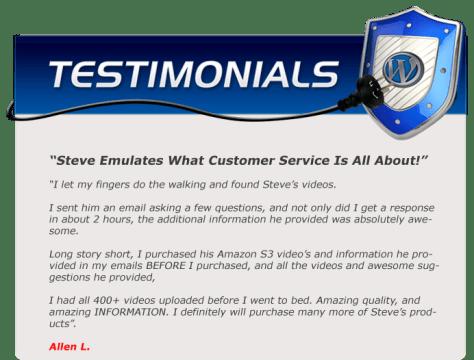 EZWP Membership testimonial Allen L