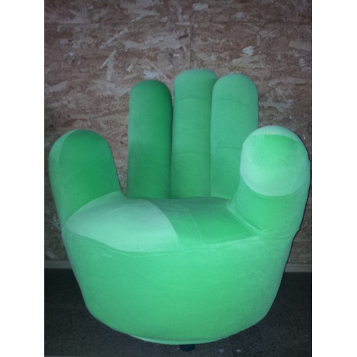 Adult size Swivel Hand Chair Finger sofa 1 seat Couch