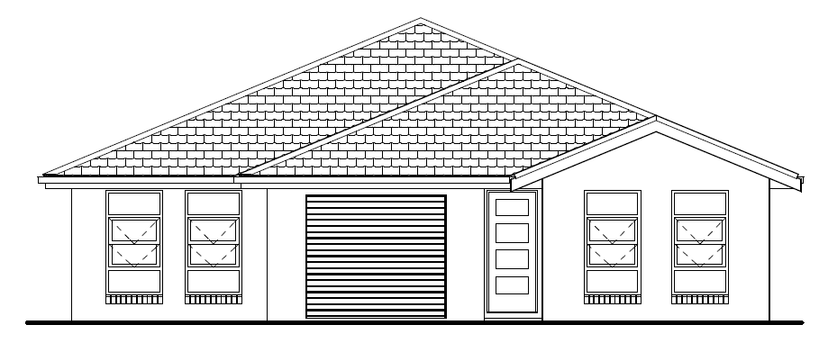 Brand New house and land package dual key investment property at cliftleigh meadows kurri kurri hunter region front view