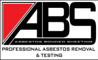 ABS Asbestos professional asbestos bonded sheeting detection, removal, disposal logo