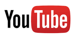 YouTube logo for social media and digital marketing online training course study