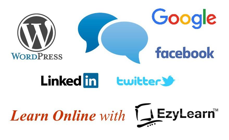Digital & Social Media Marketing Training Course Google, Facebook, WordPress logo