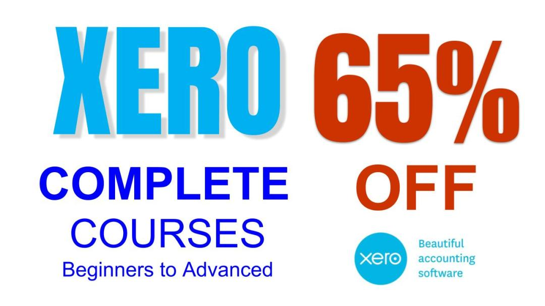 MASSIVE savings on Xero Beginners to Advanced COMPLETE Training Course Package learn at home start now and learn fast