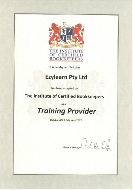 certified bookkeeper - ezylearn online training courses
