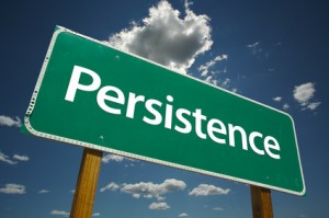 Persistence in small business