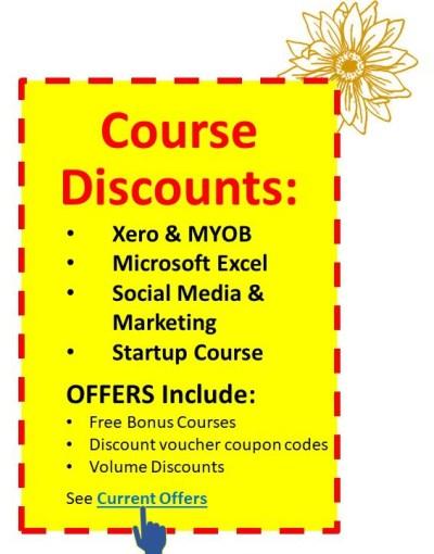 EzyLearn Ads for SPRING LEARNING cheap courses in Xero, MYOB, Excel, Social Media Marketing