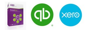 Online bookkeeping cloud accounting services using MYOB, Quickbooks and Xero