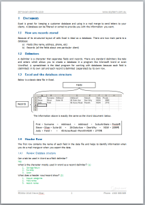 Microsoft Excel Advanced Course 307 Workbook Screen Shot