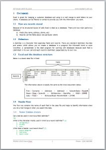 Microsoft Excel Advanced Course 307 Workbook Screen Shot