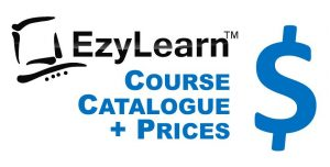 EzyLearn Online Course Course Catalogue & Prices Logo