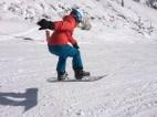 Le snowboarder de la famille