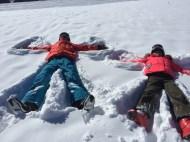 Mes anges dans la neige
