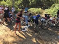 Préparation départ bike and run