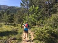 début du GR Montagne Sainte Victoire