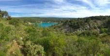Lac du barrage BImont