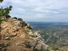 Montée vers le prieuré de la Montagne Sainte Victoire