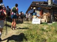 Arrivée au refuge Bertone
