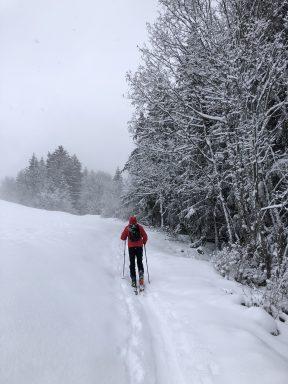 Ski de randonnée, Méribel village