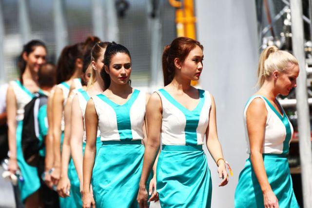 Grid Girls, Sepang International Circuit
