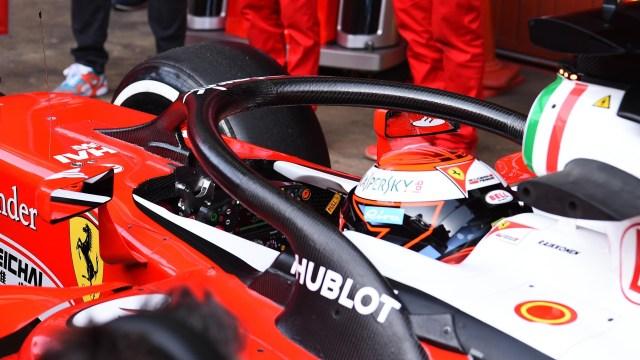 Kimi Raikkonen (FIN) Ferrari SF16-H with halo at Formula One Testing, Day Three, Barcelona, Spain, Thursday 3 March 2016.