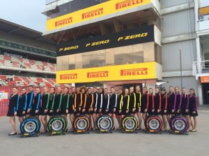 Pirelli Gridgirls, F1, Rd5, Spanish Grand Prix, Preparations, Barcelona, Spain, 2016