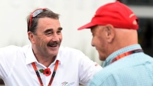 Nigel Mansell (GBR) at Formula One World Championship, Rd17, Mexican Grand Prix, Preparations, Circuit Hermanos Rodriguez, Mexico City, Mexico, Thursday 29 October 2015. © Sutton Motorsport Images